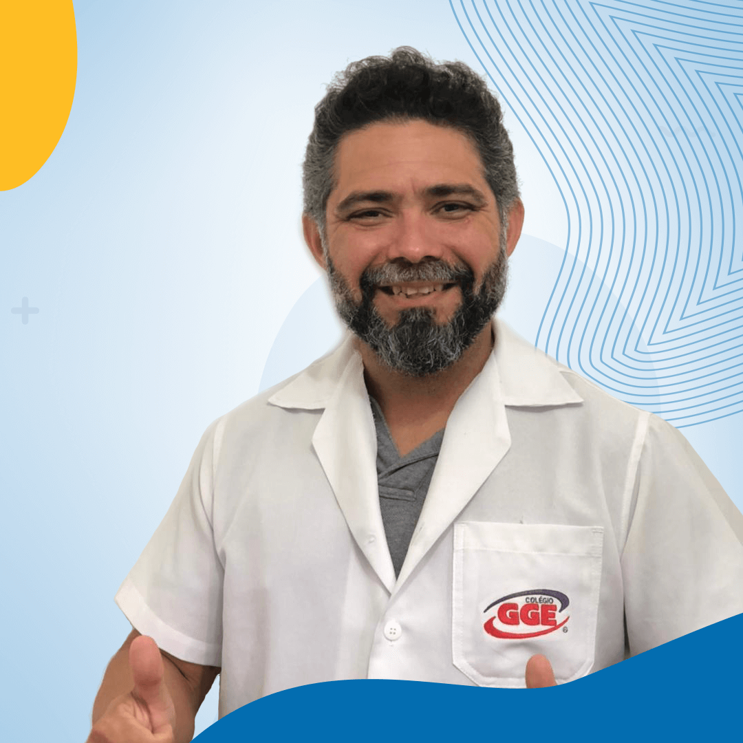 Fábio Soares   Professor de Matemática do Colégio GGE